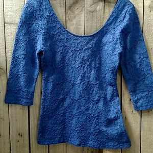 Urban Outfitters double scoop lace top